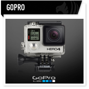 GoPro Hero videocamera moto, action cam camera