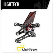 Lightech pedane portatarga moto, footrest handle bar