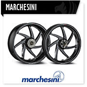 Marchesini ruote forgiate magnesio alluminio moto, forged wheels