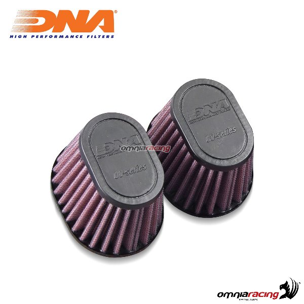 Kit filtro aria DNA air box in gomma per BMW RnineT 2014>2017