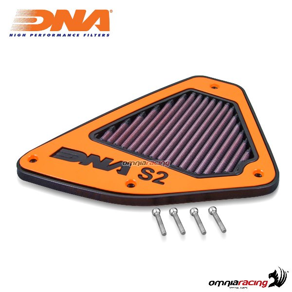 Coperchio DNA per Airbox originale fase 2 per KTM 690 DUKE ABS 2013>2017