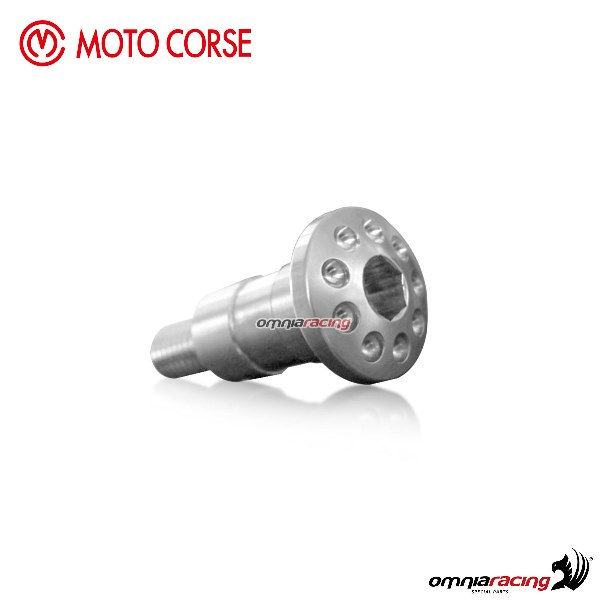 Side stand screw Motocorse titanium for Mv Agusta F4/R/RR My2010