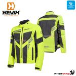 "Hevik ""IKARO"" waterproof summer jacket fluo yellow color with homologated protection"