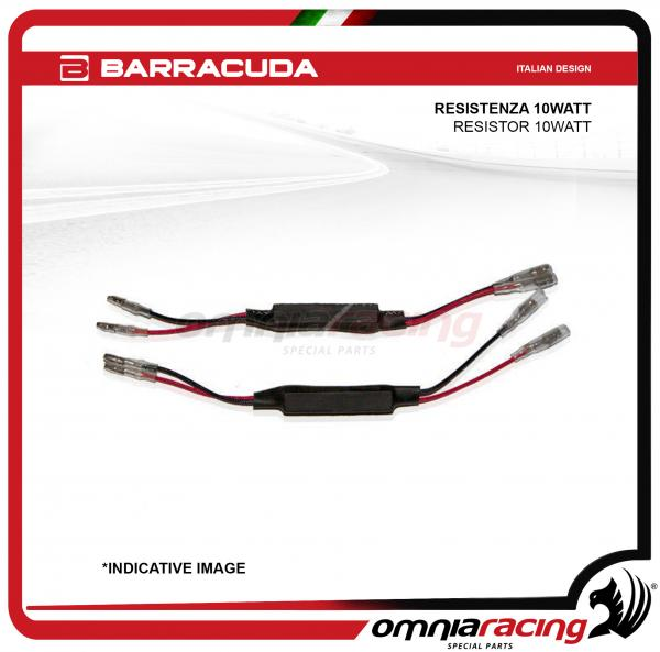 Barracuda pair of resistor 10 watt for Direction indicator Barracuda