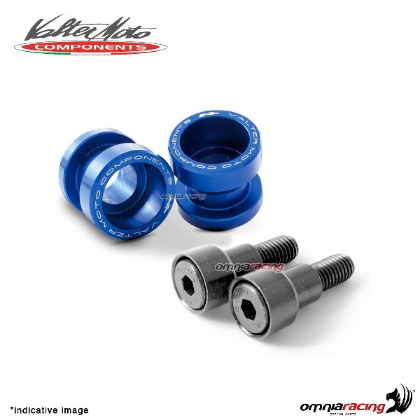 Valtermoto STREET blue aluminum stands support for Honda Hornet 600 1998>2013