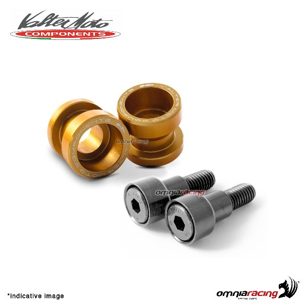 Valtermoto STREET gold aluminum stands support for Honda Hornet 600 1998>2013