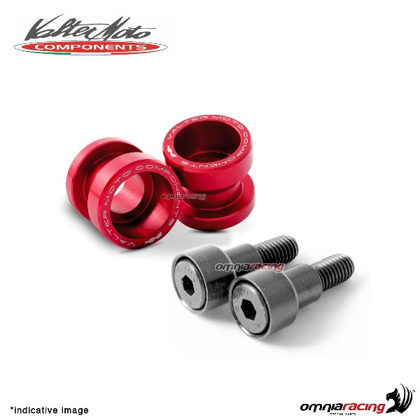 Valtermoto STREET red aluminum stands support for Honda Hornet 600 1998>2013