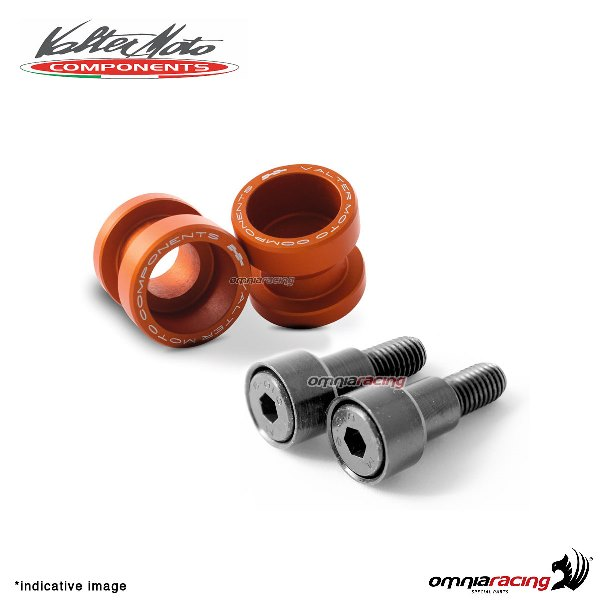 Valtermoto STREET orange aluminum stands support for Honda Hornet 600 1998>2013
