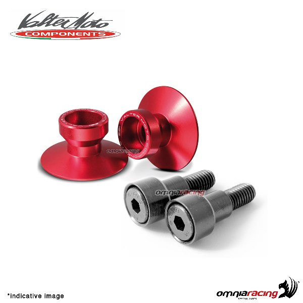 Valtermoto SPECIAL red aluminum stands support for Honda Hornet 600 1998>2013