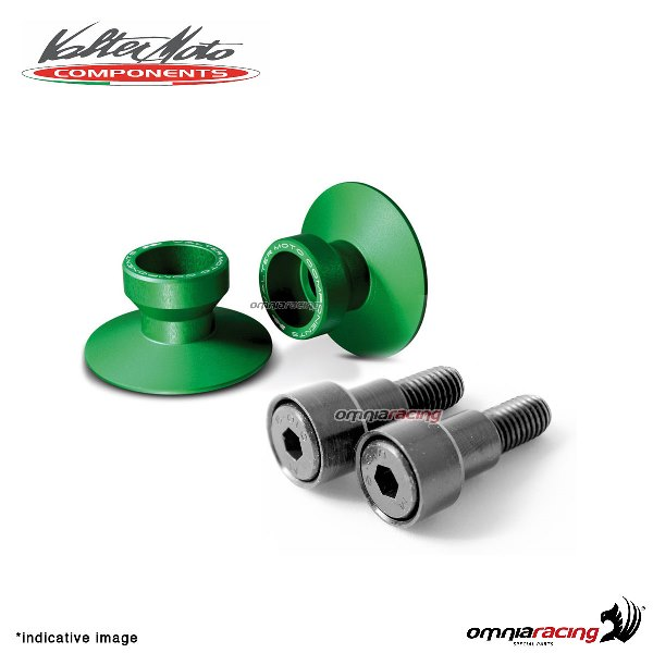 Valtermoto SPECIAL green aluminum stands support for Honda Hornet 600 1998>2013