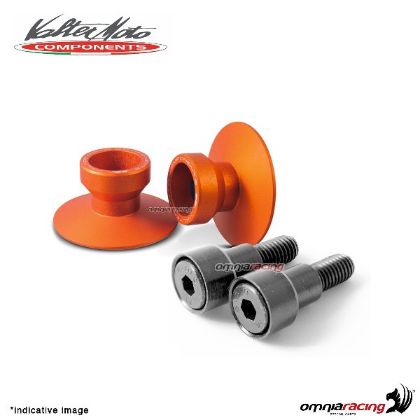 Valtermoto SPECIAL orange aluminum stands support for Honda Hornet 600 1998>2013
