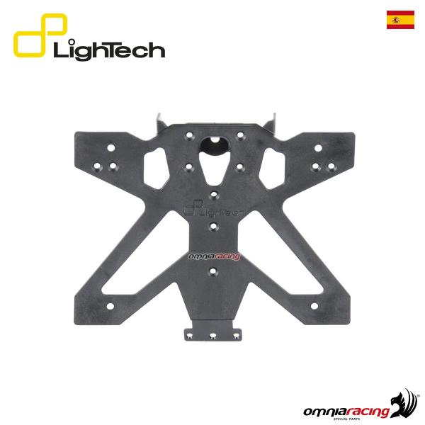 Portatarga Lightech regolabile A3 per KTM Duke 690 2012>2016