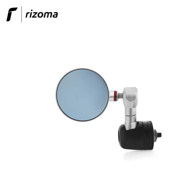 Rizoma Veloce L Mirror with Integrated Indicator - Naked