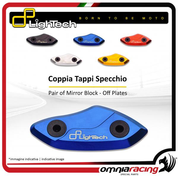 Lightech - Coppia Tappi Specchietti Retrovisori in Ergal per SUZUKI GSXR 600 / 750 / 1000 2005>14