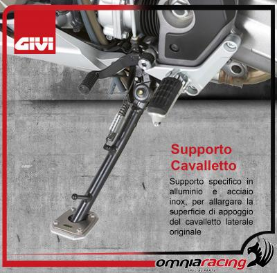 GIVI ES5103 Supporto / Estensione Cavalletto Laterale per BMW F650GS F700GS F800GS 08>17