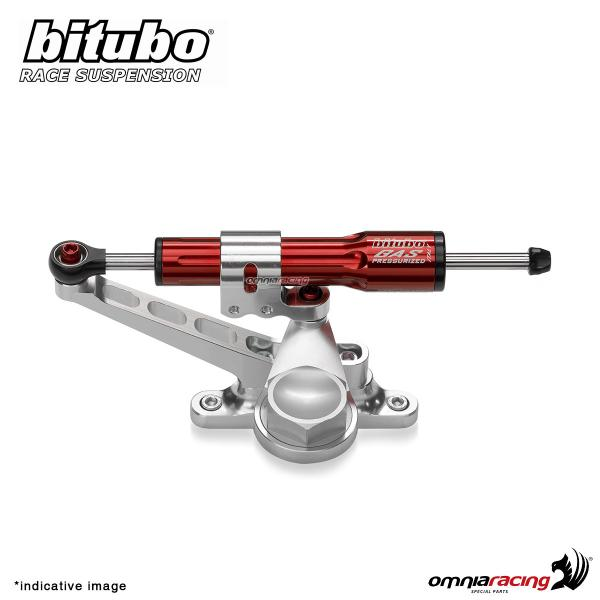 Bitubo SSW Linear Steering Damper red color for Honda Hornet 600 2007>2011
