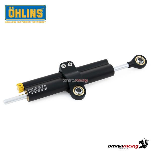 Linear steering damper Ohlins Blackline SD 063 complete for BMW RnineT 1200 2014>