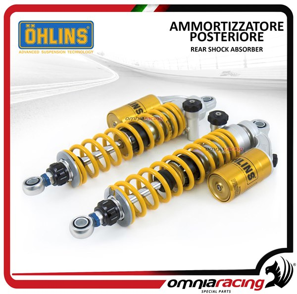 Ohlins pair adjustable rear shock absorbers STX36 Twin Harley Davidson  Sportster 883 Super Low