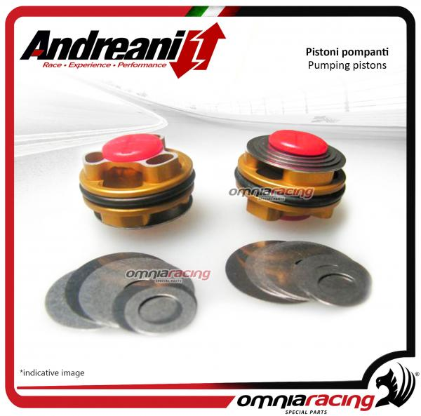 Andreani pistons pumping kit for compression and rebound Showa for Kawasaki ZX10R 2016>