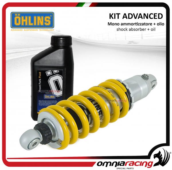 Suspension Kit for front and rear absorbers and fork Ohlins
