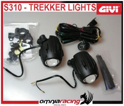 Givi S310 Trekker Halogen Light Kit