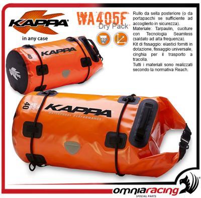 Rebaja toma una foto Aniquilar  Kappa Wa405f - 40lt Waterproof Tail Roll Bag Saddle Bag - Wa405f -  Accessories - Cases & Bags