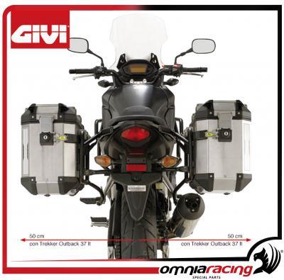 2013 /Portavaligie Laterale Honda CB500/X GIVI/