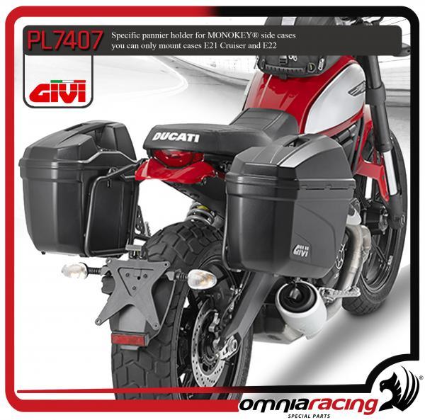 Specific Givi E21 E22 Monokey Pannier Holder For Ducati Scrambler