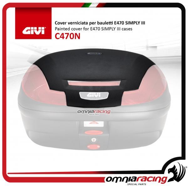 Pearl Bianco Laccato Givi c370b912/Cover E370
