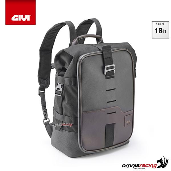 Givi Sport-T Range Corium backpack convertible into an 18 liter saddle bag