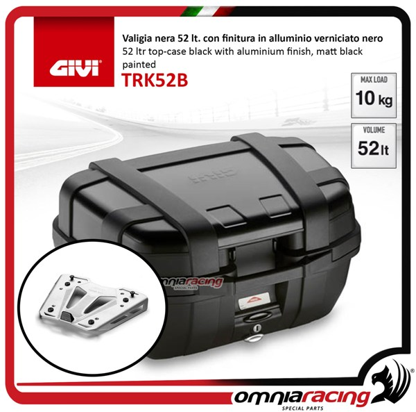 Givi M8A TREKKER Aluminium MONOKEY BASE PLATE for installing Top Box Case