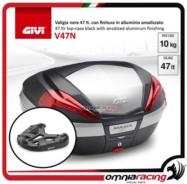 Rear Top Case Kit Givi V47n And Plate Honda Crossrunner 800 15 17