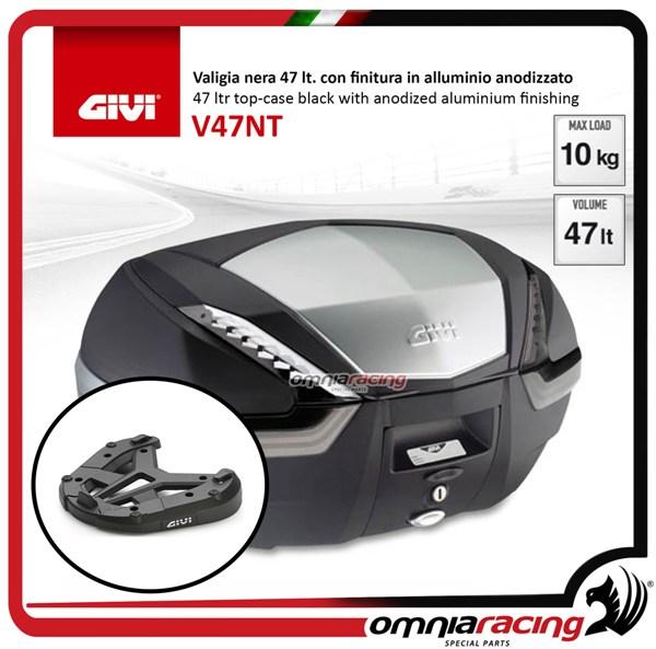 Rear Top Case Kit Givi V47 Tech And Plate Honda Crossrunner 800 15