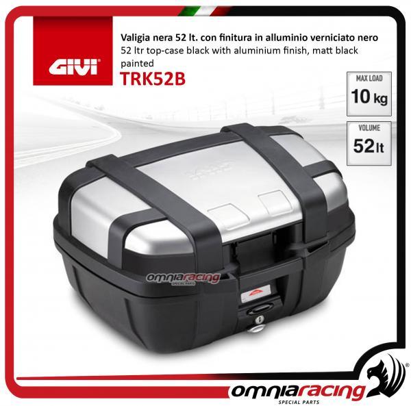 GIVI TRK52B Trekker Case 52 Ltr Black