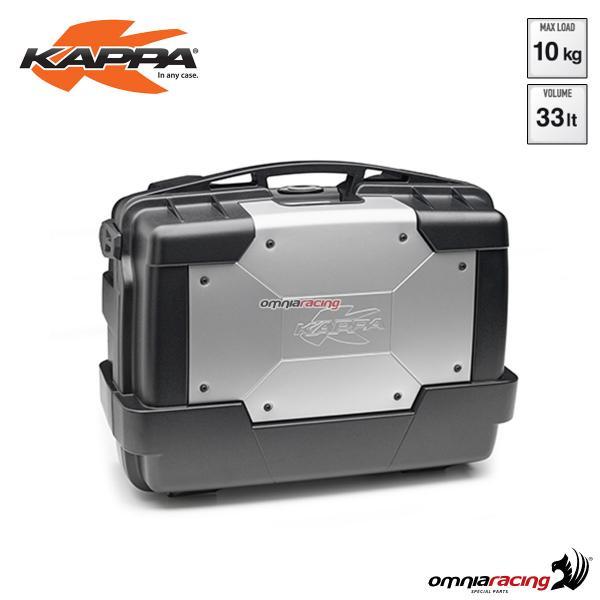 negozio ufficiale varietà di stili del 2019 presentando Side Suitcase Rear Top Case Kappa Kgr33 Garda Monokey Volume 33 ...