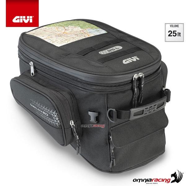 a0612863af GIVI UT810 TANKLOCKED Borsa serbatoio con sacco interno impermeabile, 25  litri