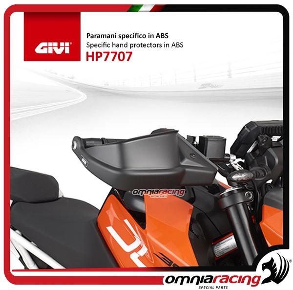 0d3fb1abf7 Home · Bauletti e Borse · Accessori Borse Zaini · HP7707 · Givi paramani  specifico in ABS per KTM Duke 125/390 2017>