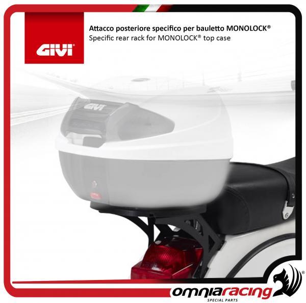 """Givi Bauletto /""""Monolock/"""" per Vespa PX 125//150"""