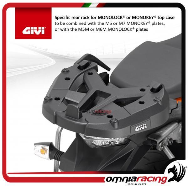 Givi Attacco posteriore MONOKEY o MONOLOCK KTM 1050//1190//1290 SR7705