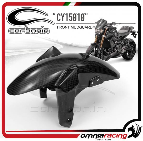 Carbonin CY15010 Front Mudguard in Glossy Carbon for Yamaha MT-09 / FZ-09 2013 13>