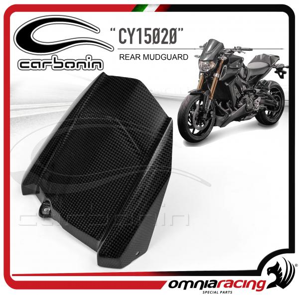 Carbonin CY15020 Rear Mudguard in Glossy Carbon for Yamaha MT-09 / FZ-09 2013 13>