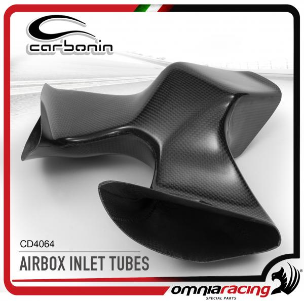 Carbonin CD4064 AirBox Inlet Tube Race in Carbon Fiber for Ducati 1199 Panigale 2012>