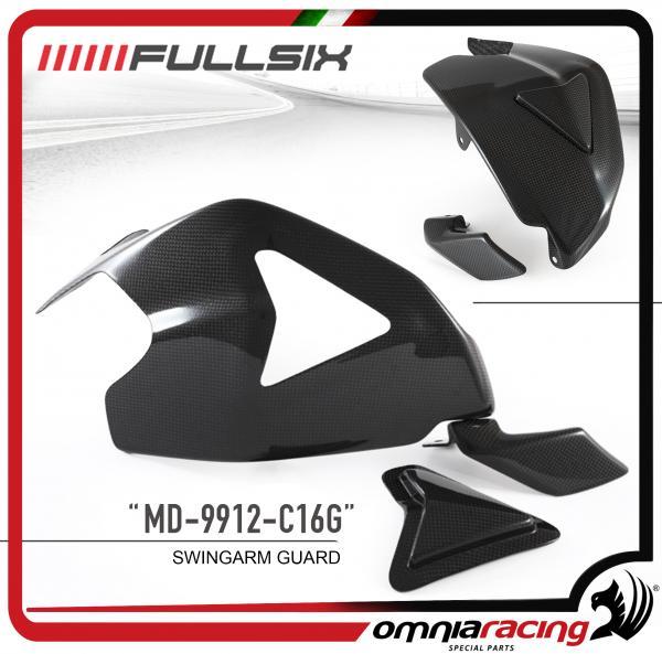 Fullsix Swingarm Guard Kit In Carbon Fiber For Ducati 1199 1299