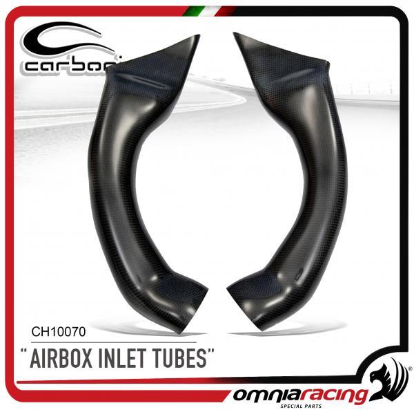 Carbonin Condotti Aria Pista In Fibra Di Carbonio Per Honda Cbr600rr