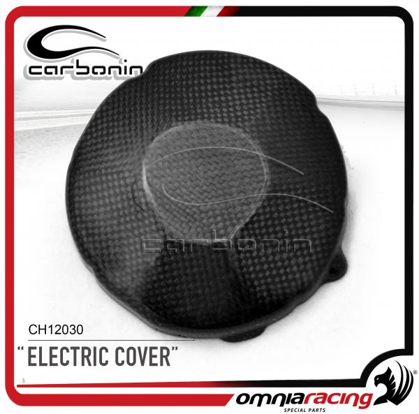 Carbonin CH12030  Coperchio Carter Alternatore in Fibra di Carbonio per Honda CBR600RR /ABS 2007>201