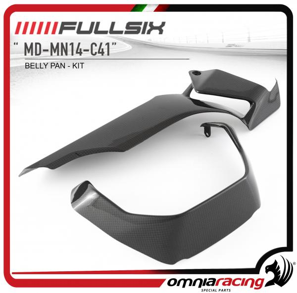 FULLSIX Kit Puntale in Fibra di Carbonio per Ducati Monster 1200 2013 13>