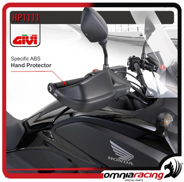 GIVI HP1111 - Kit Paramani Specifico in ABS per Honda NC700X / NC750X /S 2012 12>