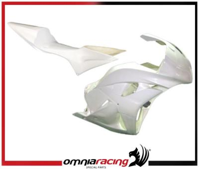 Kit Carenature racing complete : carena anteriore, codone posteriore per Honda CBR600RR 09 > 12