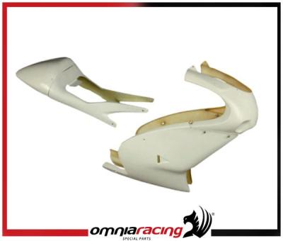 Bodywork racing complete kit : front fairing, rear seat fairing for Aprilia RS 125 99>05
