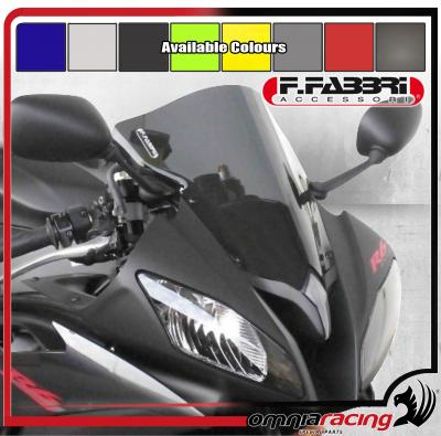 F.Fabbri Double Bubble Transparent Front Fairing Windscreen Yamaha YZF 600 R6 2008 08>13